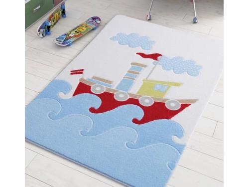 Коврик в детскую комнату Baby Ship Blue 110083422 от Confetti в интернет-магазине PannaTeks
