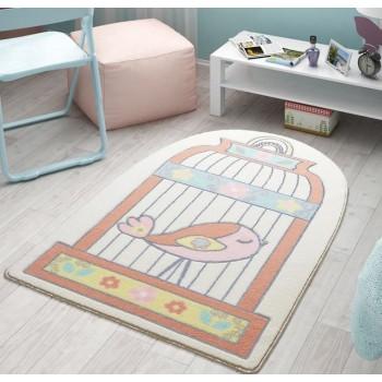Коврик в детскую комнату Happy Cage Salmon