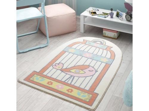 Коврик в детскую комнату Happy Cage Salmon 110083423 от Confetti в интернет-магазине PannaTeks