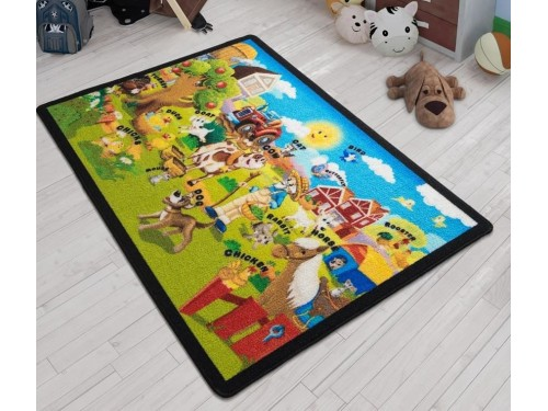 Коврик в детскую комнату Ali Baba Yesil 110083647 от Confetti в интернет-магазине PannaTeks