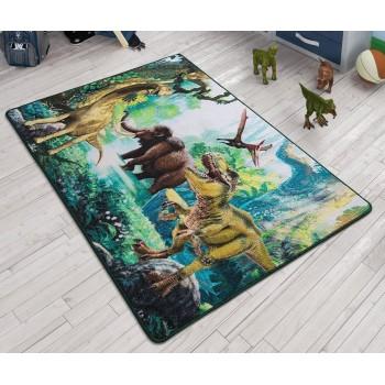Детский коврик Dinosaur Yesil Турция