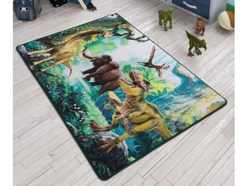 Коврик в детскую комнату Dinosaur Yesil 110083649 от Confetti в интернет-магазине PannaTeks