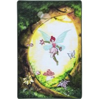 Коврик в детскую комнату Fairy Forest Yesil