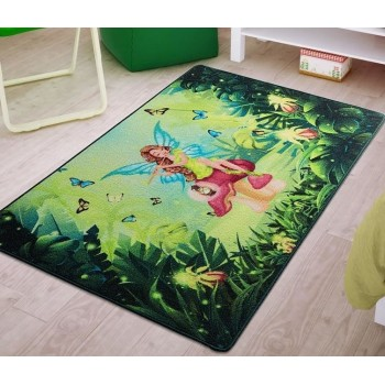 Коврик в детскую комнату Fairy Song Yesil