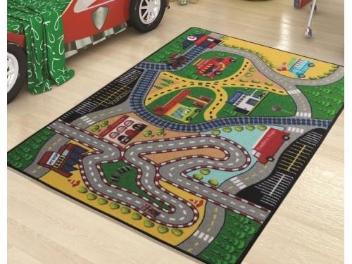 Коврик в детскую комнату Freeway Yesil 110083654 от Confetti в интернет-магазине PannaTeks