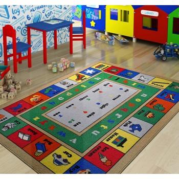 Коврик в детскую комнату Lesson Mavi