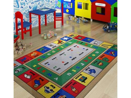 Детский коврик для игр Lesson Mavi Турция 110083656 от Confetti в интернет-магазине PannaTeks