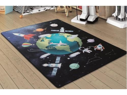 Коврик в детскую комнату Outer Space Lacivert 110083660 от Confetti в интернет-магазине PannaTeks