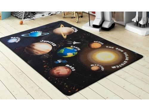 Коврик в детскую комнату Confetti Planets Siyah 110083661 от Confetti в интернет-магазине PannaTeks