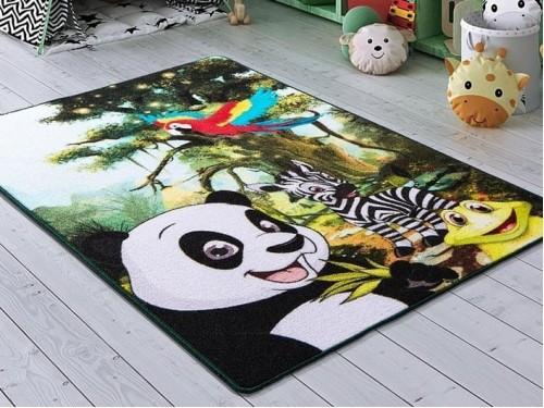 Детский коврик с пандой Selfie Yesil Yesil Турция 110083664 от Confetti в интернет-магазине PannaTeks