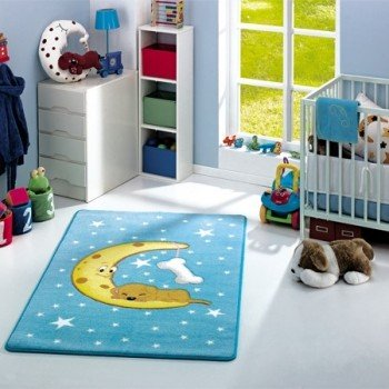 Детский коврик Confetti Moon Blue Турция