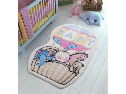 Детский напольный коврик Air Baloon Blue Турция 110083412 от Confetti в интернет-магазине PannaTeks