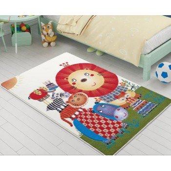 Детский прикроватный коврик Lion King Orange Турция