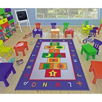 Детский коврик для игр Game Mavi Турция
