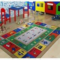 Детский коврик для игр Lesson Mavi Турция