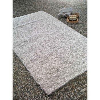 Хлопковый коврик в ванную Natura Heavy White (Beyaz) Турция