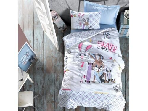 """Комплект подростковый ранфорс """"SKATE MAVI"""" 08007793 от Cotton box в интернет-магазине PannaTeks"""