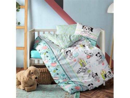 Постельное белье в кроватку Dalmacyali ранфорс 080077104 от Cotton box в интернет-магазине PannaTeks