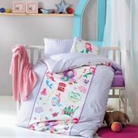 Детское белье в кроватку Deniz Kizi Lila ранфорс
