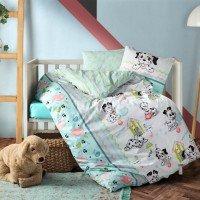 Детское постельное белье в кроватку Dalmacyali ранфорс Cotton Box