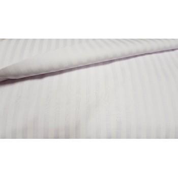 Постельное белье бязь белая в полоску фото 1