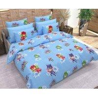 Детское постельное белье в кроватку бязь Герои