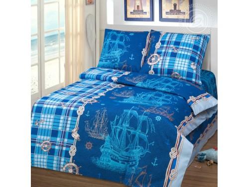 Детское постельное белье в кроватку бязь ГОСТ Бригантина Бригантина от Комфорт Текстиль в интернет-магазине PannaTeks