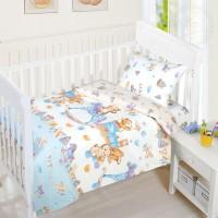 Детское постельное белье в кроватку бязь Веселое Детство