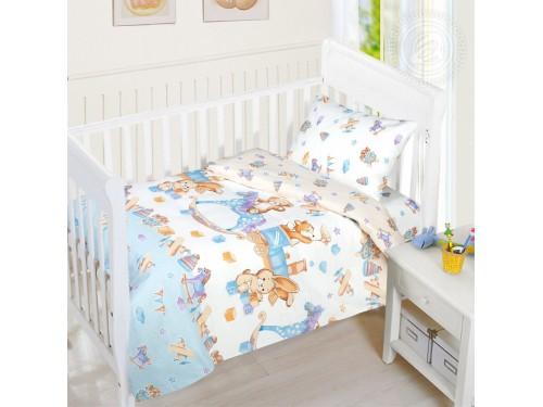 Детское постельное белье в кроватку бязь Веселое Детство Детство от Комфорт Текстиль в интернет-магазине PannaTeks