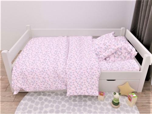 Детское постельное белье в кроватку бязь Единорожка Единорожка от Комфорт Текстиль в интернет-магазине PannaTeks