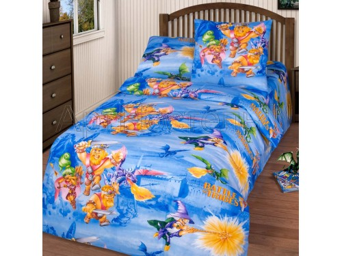 Детское постельное белье бязь Легендарные подвиги Легендарные подвиги от Комфорт Текстиль в интернет-магазине PannaTeks