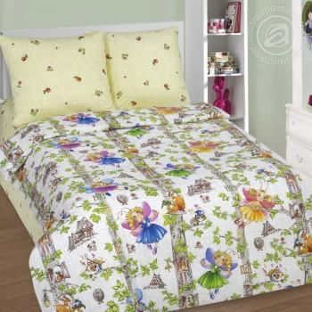 Детское постельное белье в кроватку поплин Лесные феи фото 2