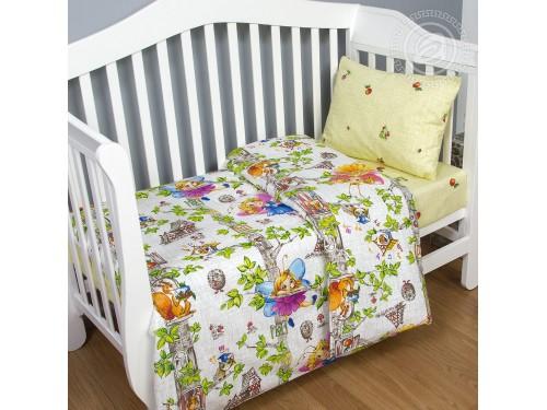 Детское постельное белье в кроватку поплин Лесные феи Лесные феи от Комфорт Текстиль в интернет-магазине PannaTeks