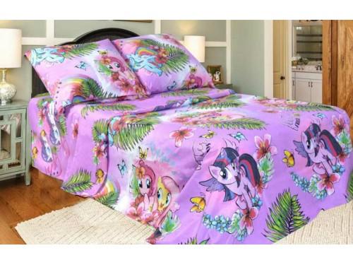 Детское постельное белье в кроватку бязь Литл Пони Литл Пони от Комфорт Текстиль в интернет-магазине PannaTeks