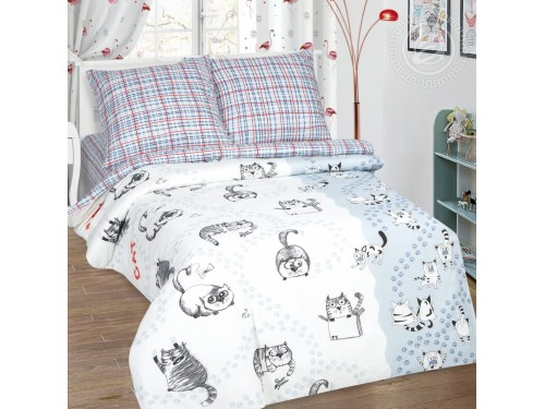 Детское постельное белье поплин Мейсон Мейсон от Комфорт Текстиль в интернет-магазине PannaTeks