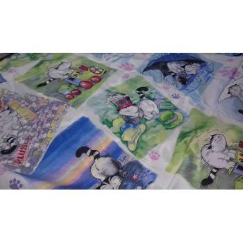 Детское постельное белье поплин Мурзик фото 3