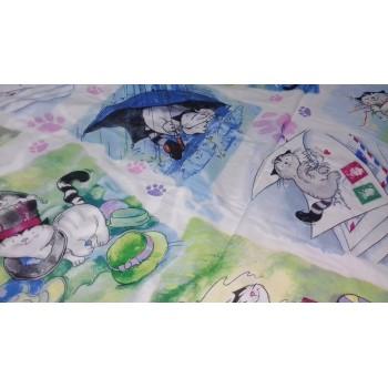 Детское постельное белье поплин Мурзик фото 4