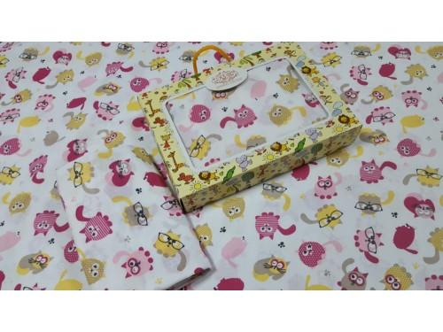 Детское постельное белье в кроватку бязь Няшки Няшки от Комфорт Текстиль в интернет-магазине PannaTeks