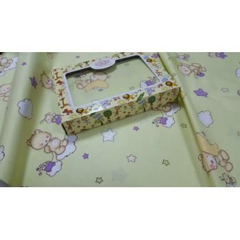 Детское постельное белье в кроватку бязь Облачко фото 1