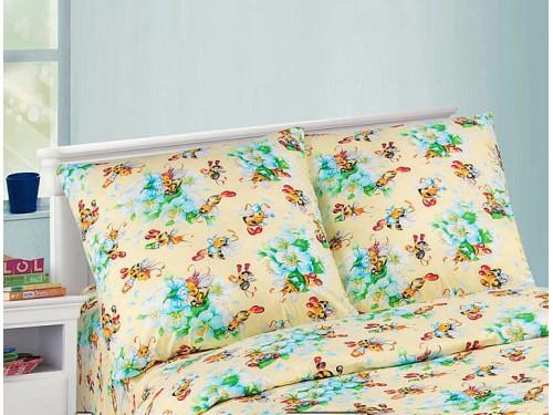 Детское постельное белье поплин Пчелки Пчелки от Комфорт Текстиль в интернет-магазине PannaTeks