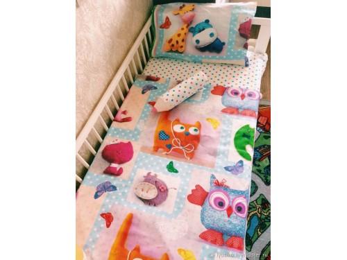 Детское постельное белье в кроватку поплин Мир Игрушек Плюшевый мир от Комфорт Текстиль в интернет-магазине PannaTeks