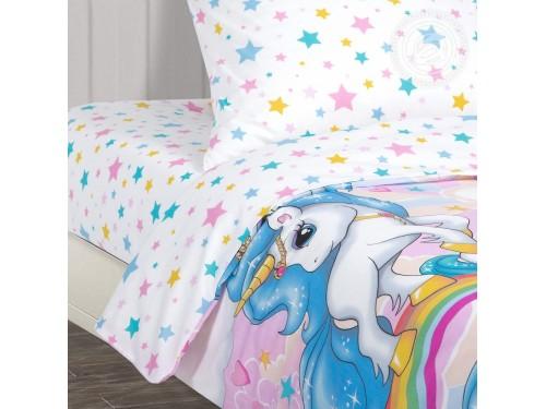Детское постельное белье в кроватку поплин Карусельки Карусельки от Комфорт Текстиль в интернет-магазине PannaTeks