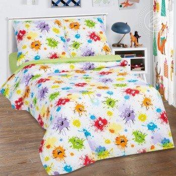 Детское постельное белье в кроватку поплин Промокашка Промокашка от Комфорт Текстиль в интернет-магазине PannaTeks
