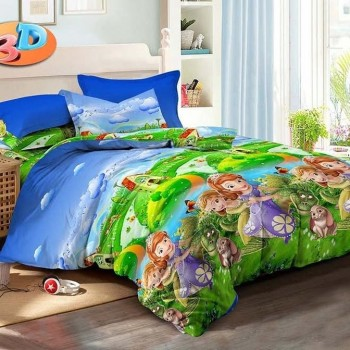 Детское постельное белье в кроватку София и Волшебная Страна ранфорс фото 2