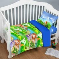 Детское постельное белье в кроватку София и Волшебная Страна ранфорс