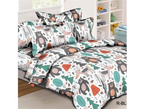 Детское постельное белье в кроватку ранфорс Лукоморье 0982 от Комфорт Текстиль в интернет-магазине PannaTeks