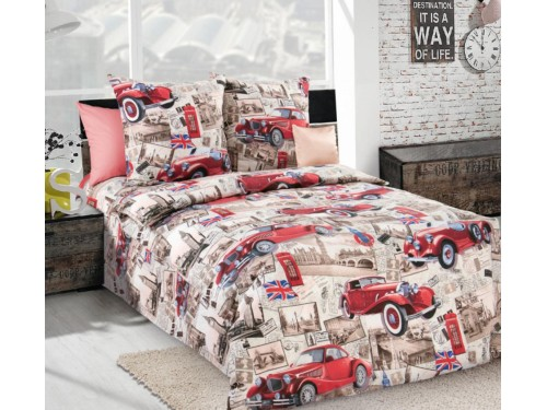 Детское постельное белье бязь Ретро Лондон Ретро Лондон от Комфорт Текстиль в интернет-магазине PannaTeks