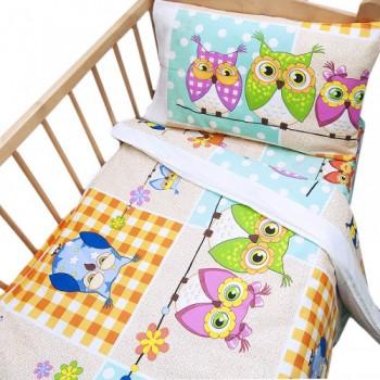 Детское постельное белье в кроватку бязь Соня