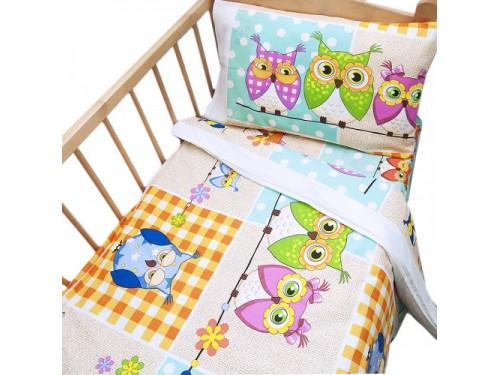Детское постельное белье в кроватку бязь Соня Соня от Царский Дом в интернет-магазине PannaTeks