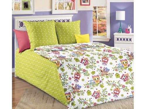 Детское постельное белье бязь Разноцветные Совята Совята от Комфорт Текстиль в интернет-магазине PannaTeks